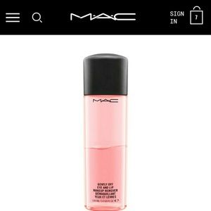 MAC Gently Off Eye & Lip Makeup Remover